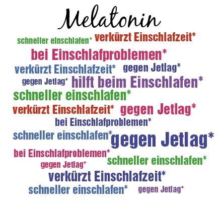 Melatonin verkürzt die Einschlafzeit*